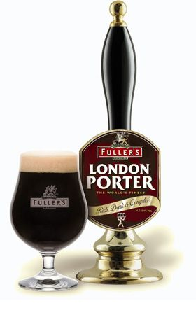 This week's Beer of the Week, Fuller's London Porter, is a dark and rich English Porter with a great robust flavor and a smooth finish. Description from nj.com. I searched for this on bing.com/images