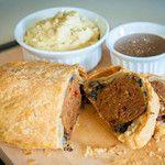 Vegan Meatloaf Wellington with Gravy
