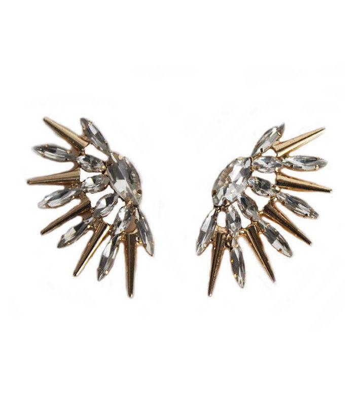 Miriam Stella Fashion Jewelry - Orecchini Star #miriamstella #fashionblogger #moda #fashion #madeinitaly #fashionjewelry #jewelry #jewels #earrings #star #gold #crystals