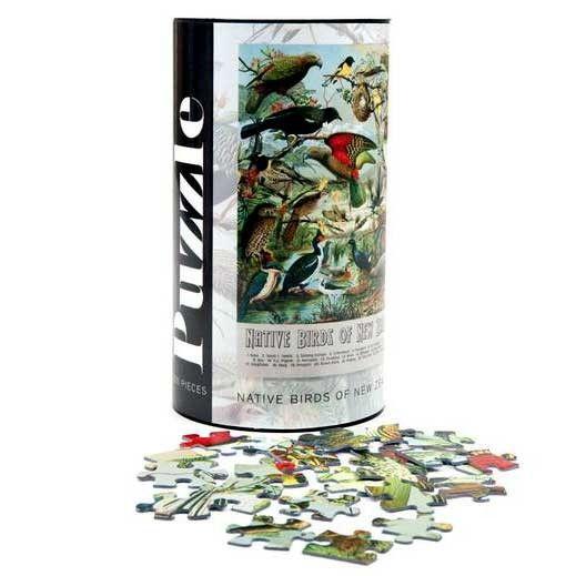 New Zealand Native Birds 300 Piece Jigsaw Puzzle