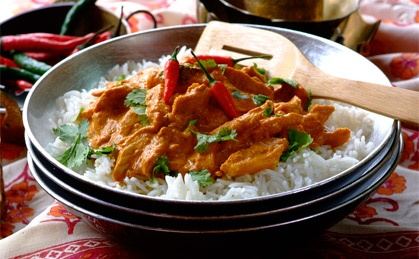 Indian Butter Chicken: delicious, creamy and fragrant  #curry #curries