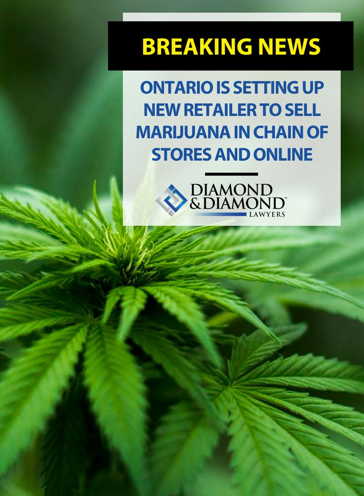 Ontario is already taking steps to strictly control the distribution of marijuana through opening 150 government-owned brick-and-mortar stores and an eCommerce website.