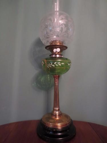 94 best English oil lamps images on Pinterest | Vintage lamps, Oil ...