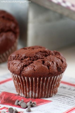 Muffins al Nesquik e Bayles. Quick and easy…!