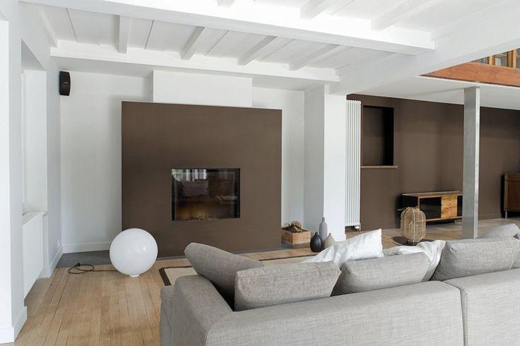Un salon chaleureux - Marie Claire Maison