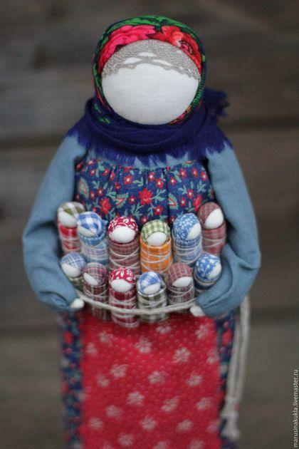 """Народные куклы ручной работы. Ярмарка Мастеров - ручная работа. Купить Кукла """"Урожай"""". Handmade. Разноцветный, традиция, оберег, лен"""