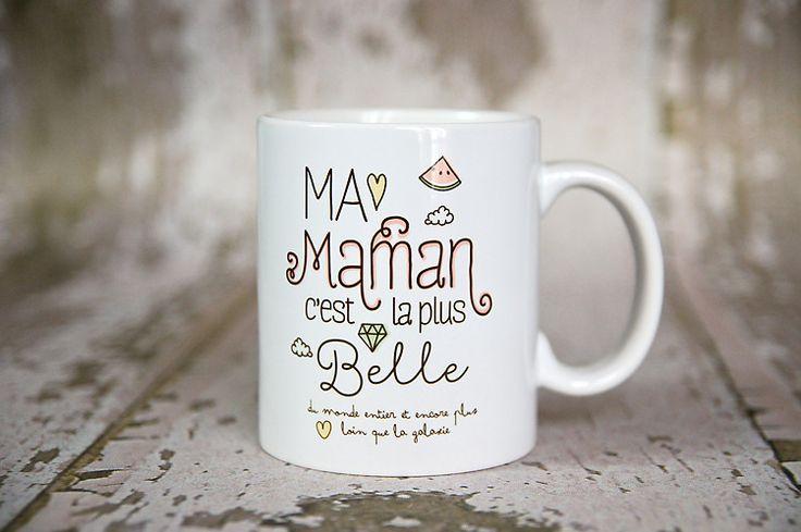 le Mug Ma maman c'est la plus belle : Cuisine et service de table par crea-bisontine