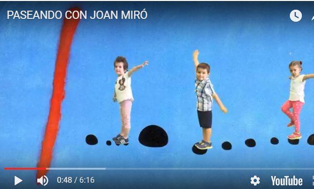 Artista trabajado: Miró Los videos sensacionales. Y una buena compilación de recursos. CRA Montearagón
