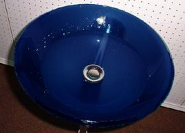 Blue Glass Basin