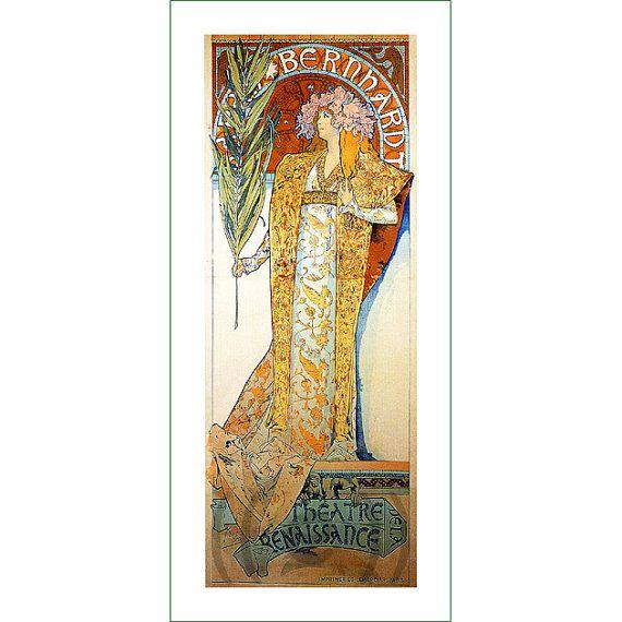 fabric panel - painting by Alphonse Mucha (25)