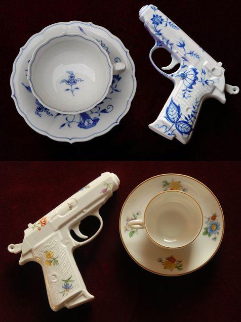 Porcelain Pistols, Yvonne Lee Schultz