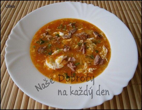 Recept Uzená kuřecí česnečka se zeleninou. Kuchařka pro začínající i zkušené kuchaře, recepty z celého světa. I vy můžete přidat své recepty.