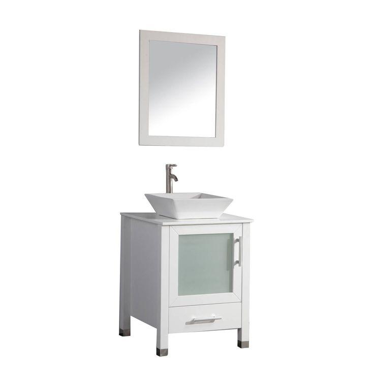 Bathroom Mirrors Malta best 25+ 24 inch bathroom vanity ideas on pinterest | 24 bathroom