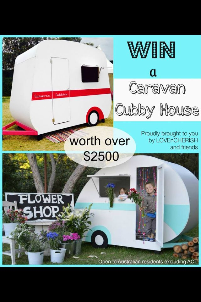 Enter now to WIN a vintage Caravan Cubby! Enter now at www.lovencherish.com