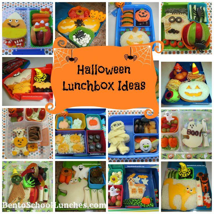 Halloween Lunchbox Ideas. #Halloween #lunchbox  www.facebook.com/bentoschoollunches