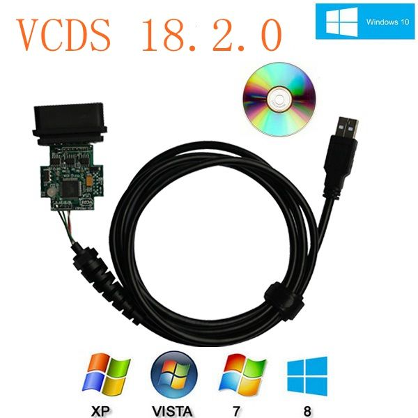 VCDS 18 2 0 Crack Cable with English/Francais/Deutsch VCDS 18 2 0
