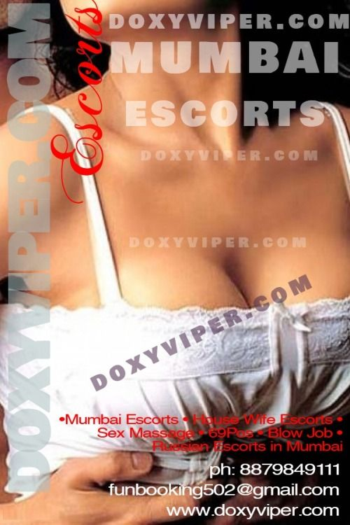 Doxyviper is a Mumbai escort agency where you will find the pretty young  girls. We have a broad selection of Mumbai Escorts, and are able to cater  to every ...