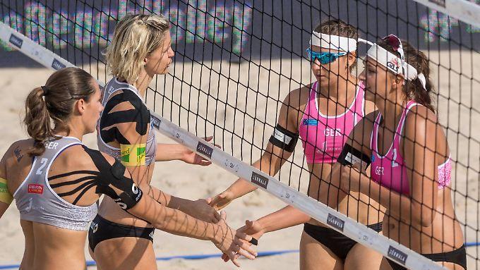 K.o. für Beach-Weltmeisterinnen: Golden Girls geht bei EM die Power aus