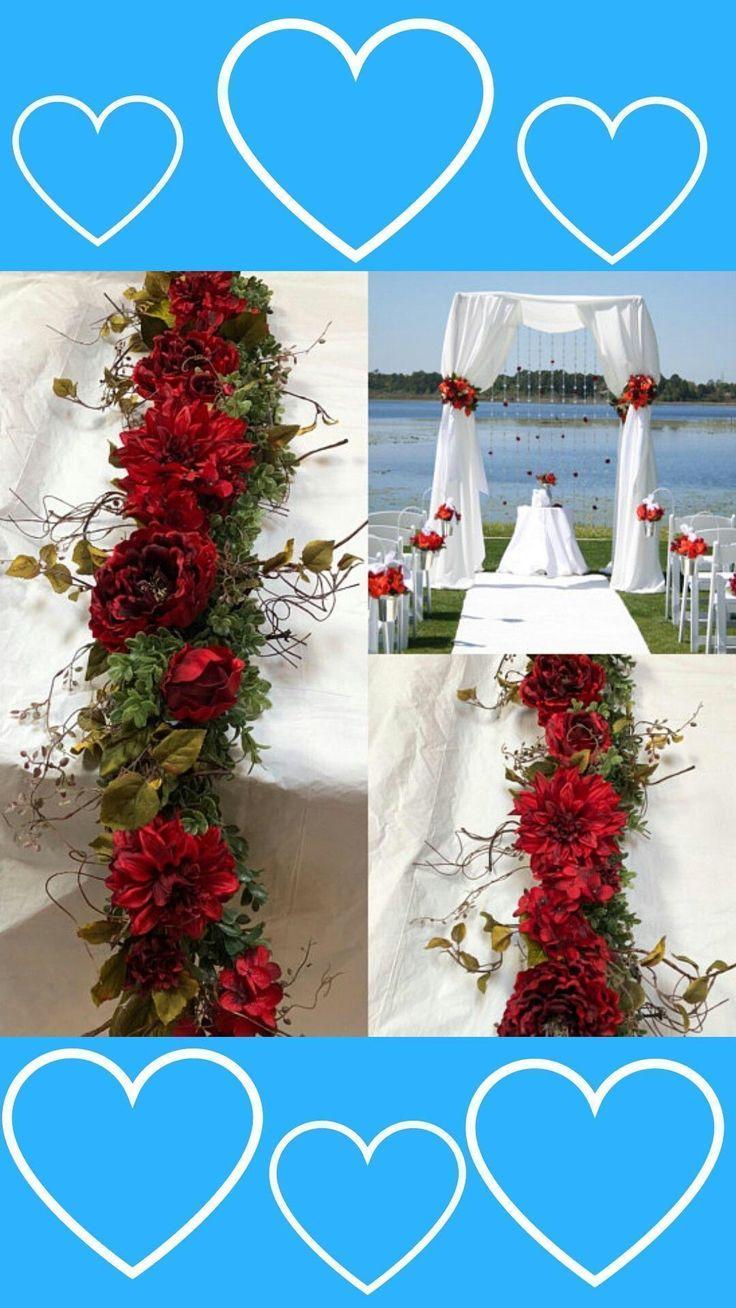Chuppah Flowers, Wedding Chuppah garland ceremony chuppah wedding backdrop wedding flowers wedding arch flowers wedding greenery#ad #weddingbackdrops #weddingflowers