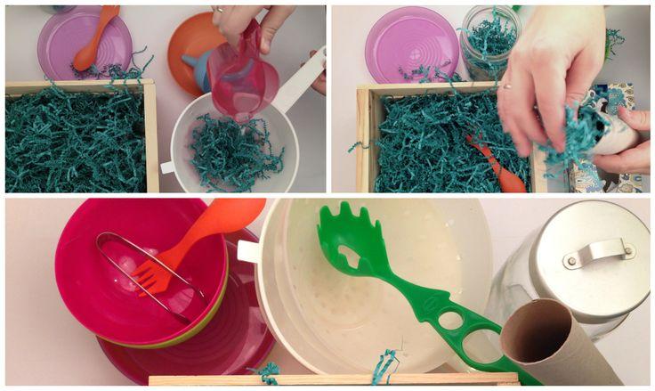zakręcony belfer: Kolorowo- dotykowo, czyli zabawy sensoryczne.