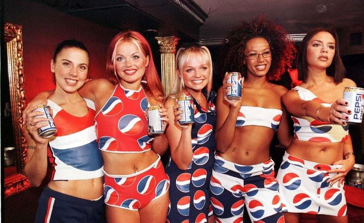 spice girls x pepsi