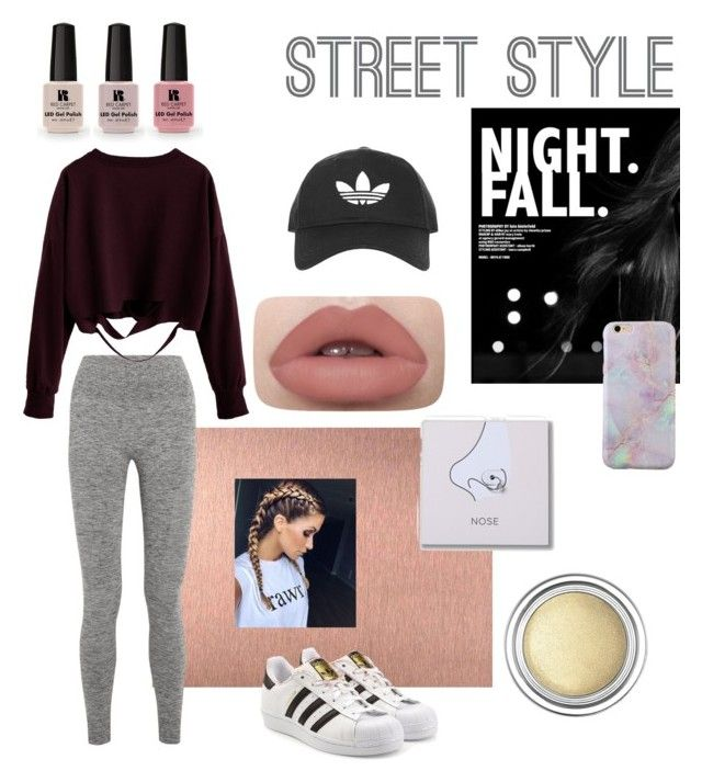 """""""💋🍬"""" by queen-vic ❤ liked on Polyvore featuring LNDR, adidas Originals, Topshop, Christian Dior and Victoria's Secret"""
