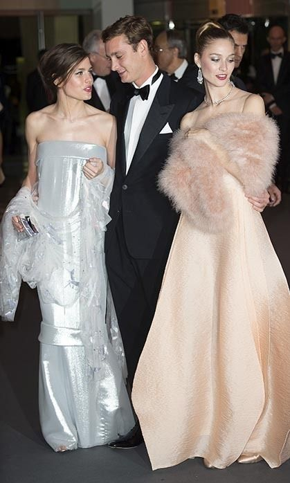 Charlotte Casiraghi made her first official post-baby appearance at the Rose Ball in March, dazzling in a strapless silver gown as she joined Monaco's royal family for one of the principality's most glamorous evenings.