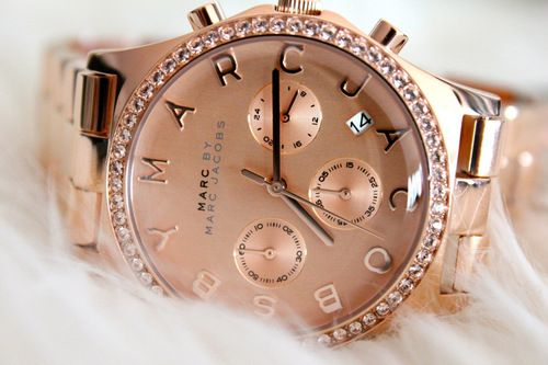 Marc by Marc Jacobs Henry Chrono, via Clouds Poppy