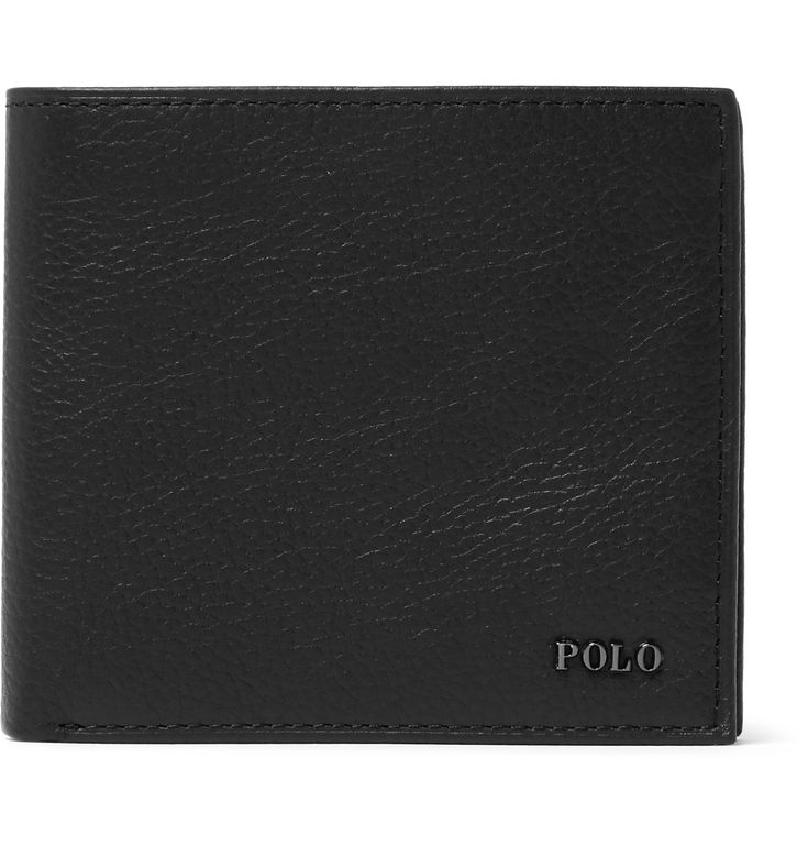 Choosing a wallet that can withstand daily wear and tear is non-negotiable when you consider how often you'll use it. Up to the task is this version by <a href='http://www.mrporter.com/mens/Designers/Polo_Ralph_Lauren'>Polo Ralph Lauren</a>, which is made from supple yet resilient full-grain leather. It's organised with plenty of slots inside for your cards, bills and receipts.