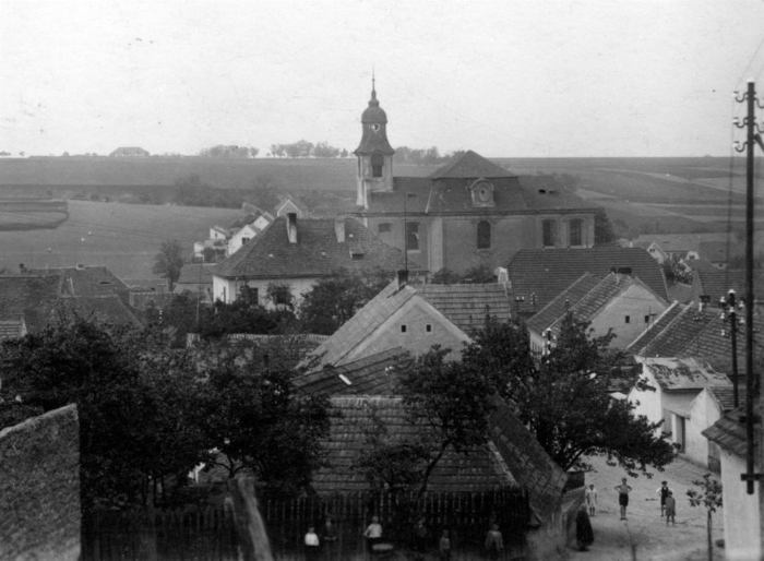 Lidice before extermination by the Nazis.