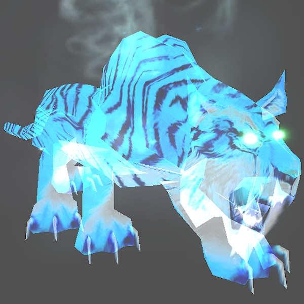 Magria, L85, Blue Spectral Saber Tiger, Mount Hyjal Rare