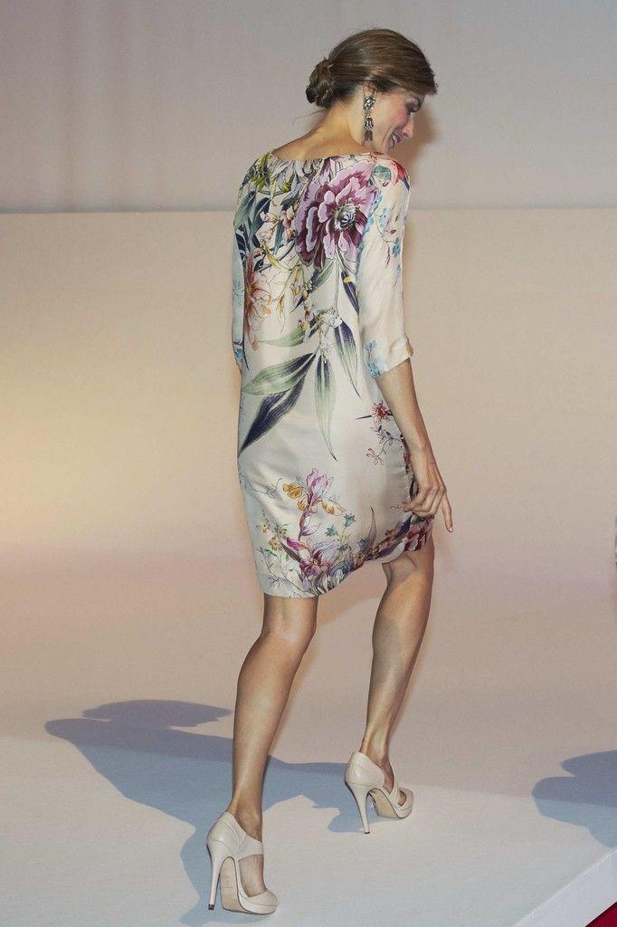 Doña Letizia, una reina 'tropical' ante la moda más transgresora. 21.07.2016