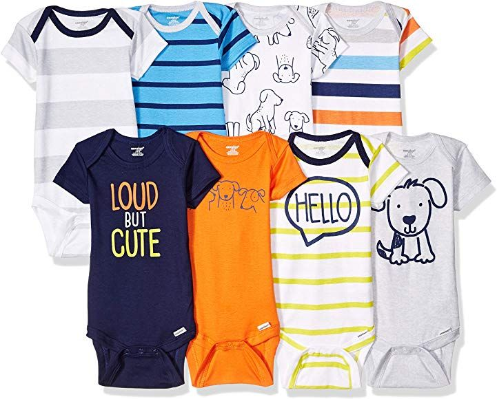 Amazon Com Onesies Brand Baby 8 Pack Short Sleeve Bodysuit Clouds 0 3 Months Clothing Fashionable Baby Clothes Baby Clothes Onesies Baby Clothes Online