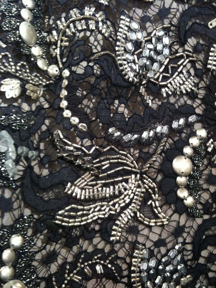 couture dress (detail)
