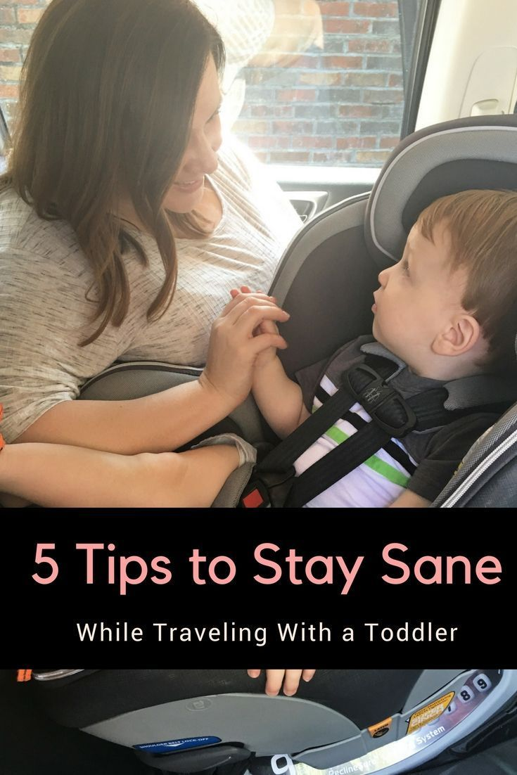 5 Tips to Stay Sane While Traveling With a Toddler #TurnAfter2