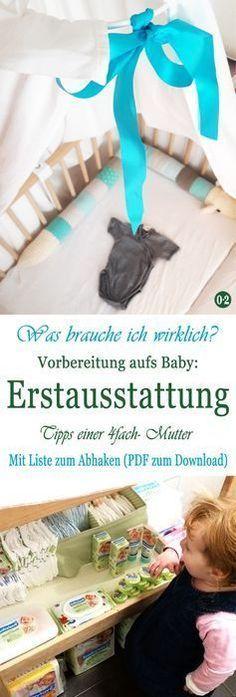 Entspannt aufs Baby vorbereiten: Meine Bucket List {Mit Erstausstattung zum Download – Jekaterina Melnikowa