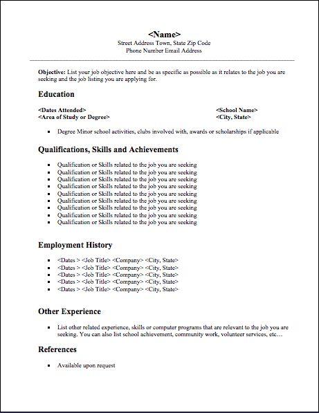 Best 25+ Student resume ideas on Pinterest Resume help, Resume - high school resume for jobs