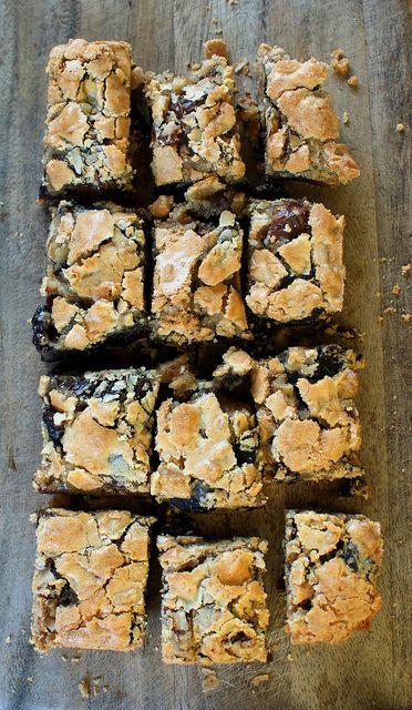 Gluten-free date-walnut bars