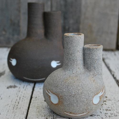 Beastie Bud Vase: Bud Vases, Ceramics Jars, Beasties Bud, Contemp Pottery, Ceramics Bud, Contemporary Ceramics, Pottery Inspiration