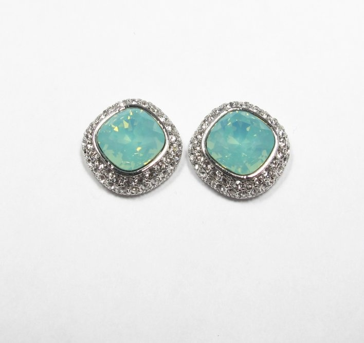 "Cecilie Melli earrings ""Regular pacific opal"""