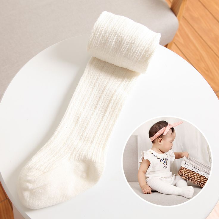 Bayi cotton tights pantyhose stoking bayi stoking untuk anak perempuan celana ketat untuk bayi yang baru lahir hangat 5 warna