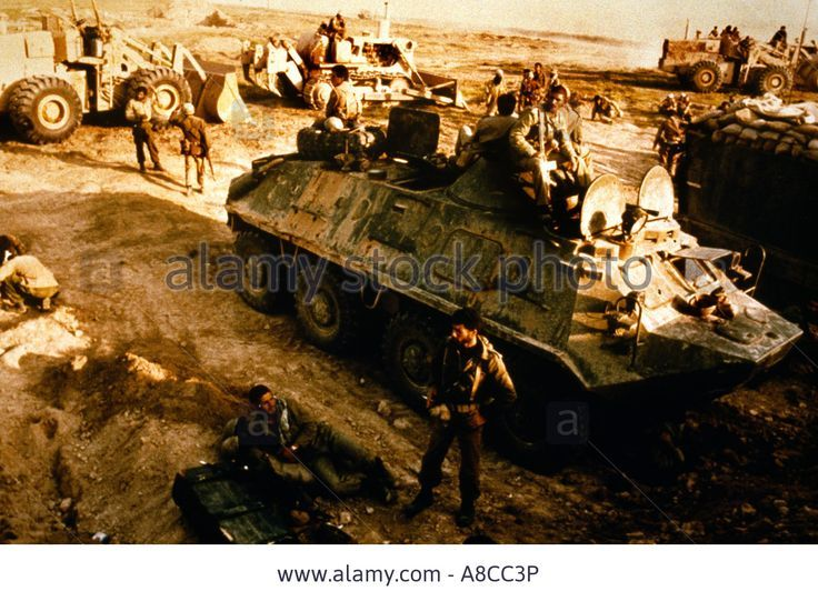 Iranian troops riding an  ex-Iraqi BYE 60 PB
