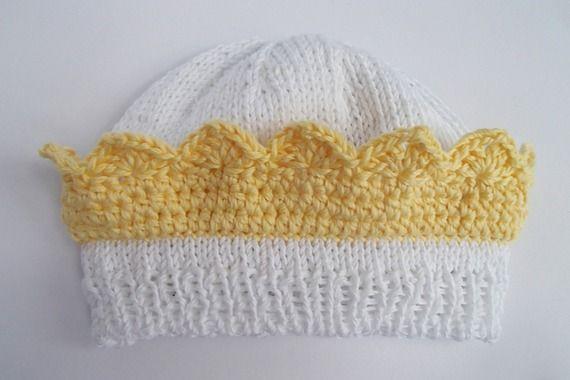cappellino per principini - in puro cotone
