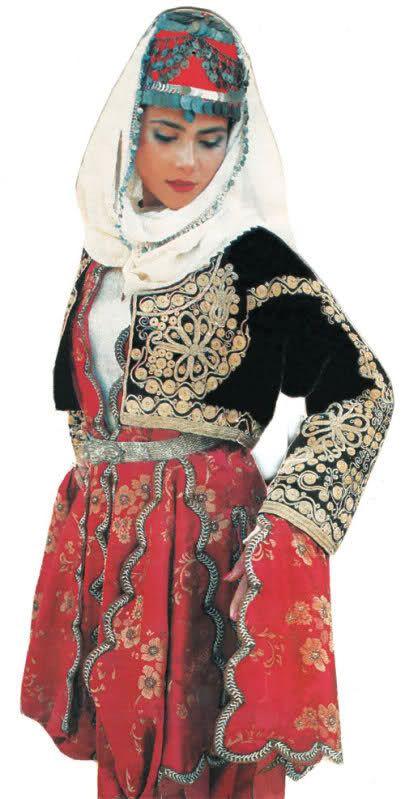 yöresel kadın başlıklar Burdur-dastarlı gelin