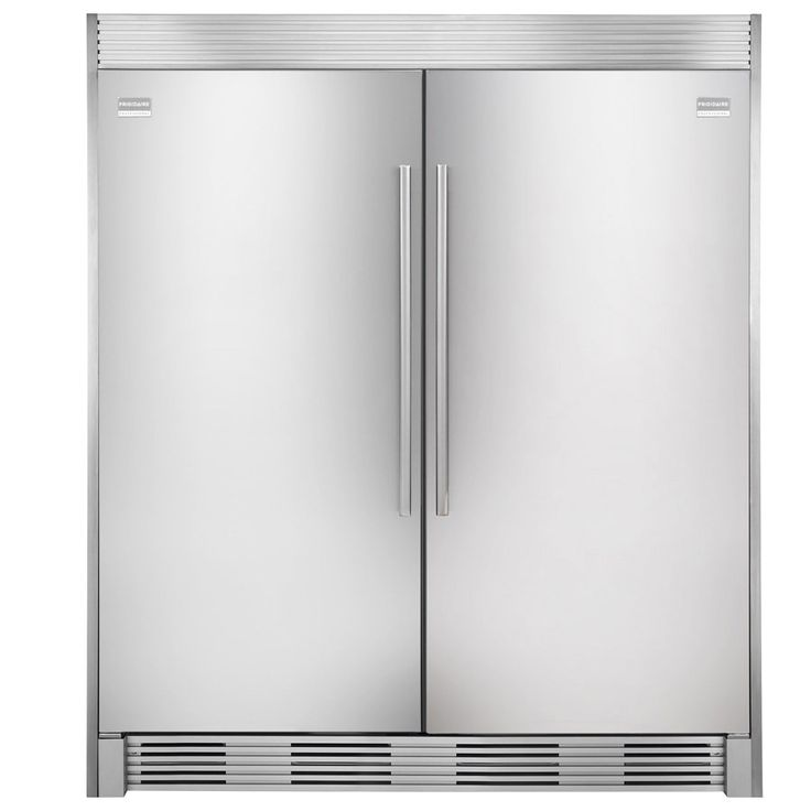 shop frigidaire 1858cu ft frost free upright freezer stainless steel at