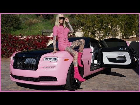 53 My New Pink Rolls Royce Wraith Car Tour Jeffree