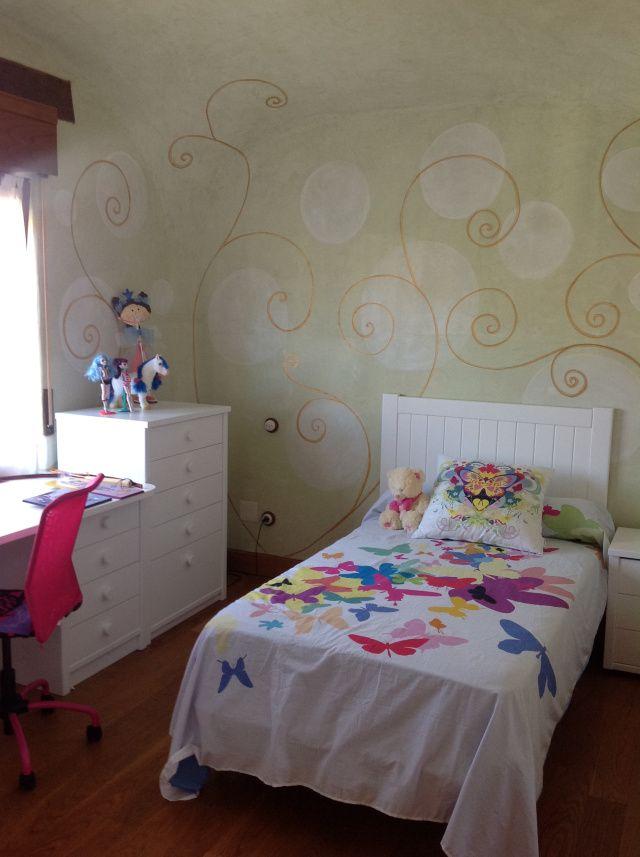Murales para habitacion mural para la habitacin del beb for Mural para habitacion