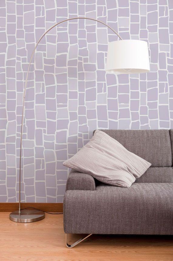 Wall Stencils | Mosaic Stencil | Royal Design Studio
