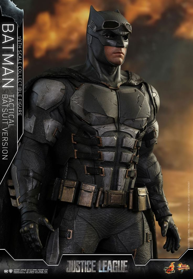 Here are new photos and info for the upcoming Justice League – Batman Tactical Suit Version 1/6 Scale Figure by Hot Toys. The figure includes a Mother Box, interchangeable parts, a figure stand and more. Check out the details below and read on for the photos. Justice League – 1/6th scale Batman (Tactical Batsuit Version) Ahead of Justice League's release in about 3 months, the highly anticipated blockbuster has already gained a huge buzz globally. As the continuation of Batman v Sup...