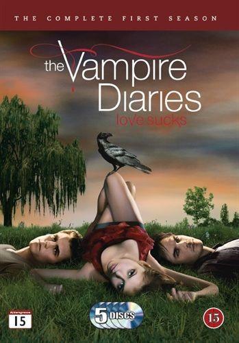 The Vampire Diaries - Kausi 1 (5 disc) (DVD) 9,95 e